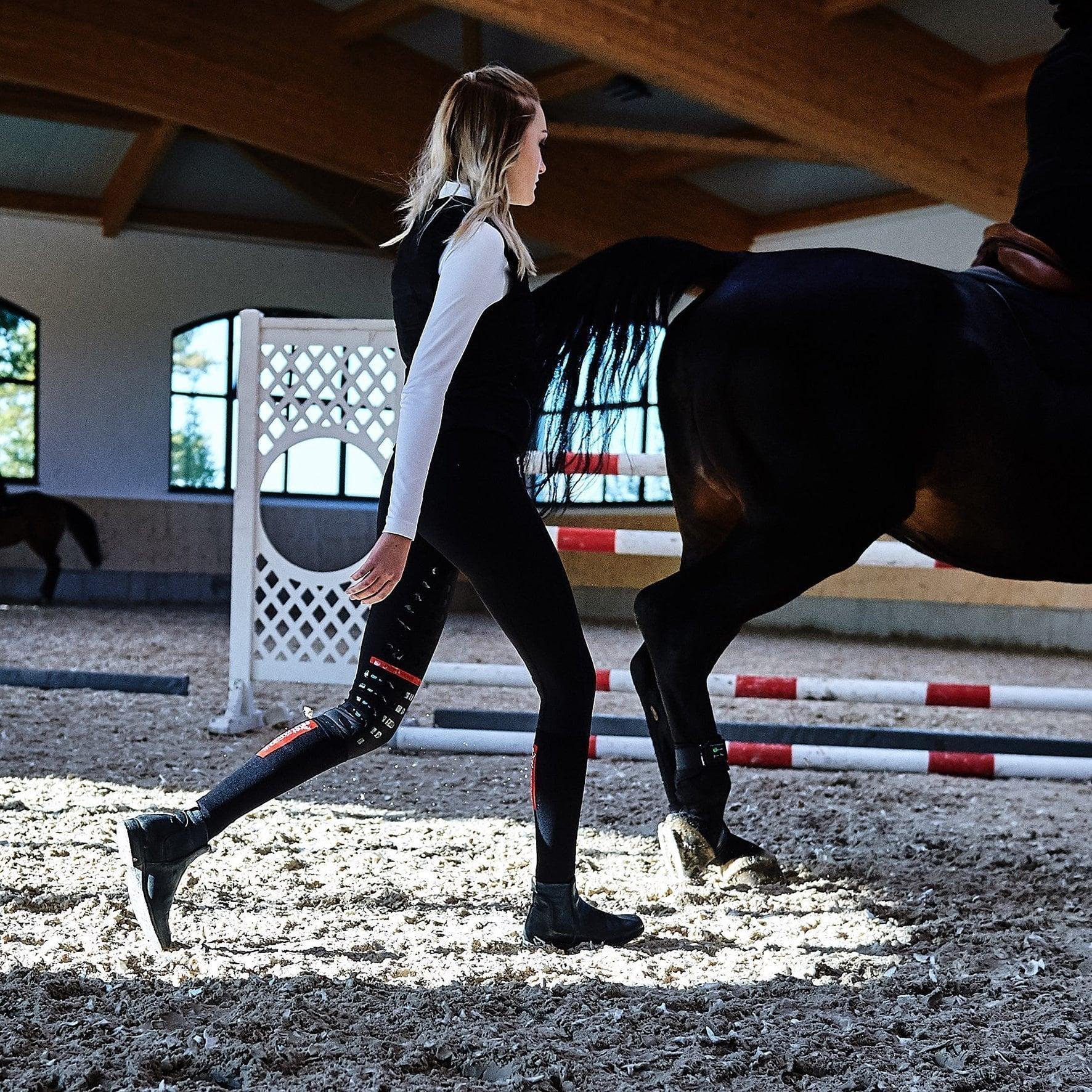 La fin des pantalons d'équitation ? - Les cavaliers misent sur les leggings d'équitation